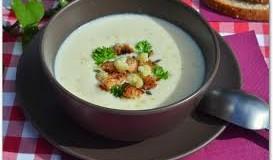 Сырно-грибной крем суп