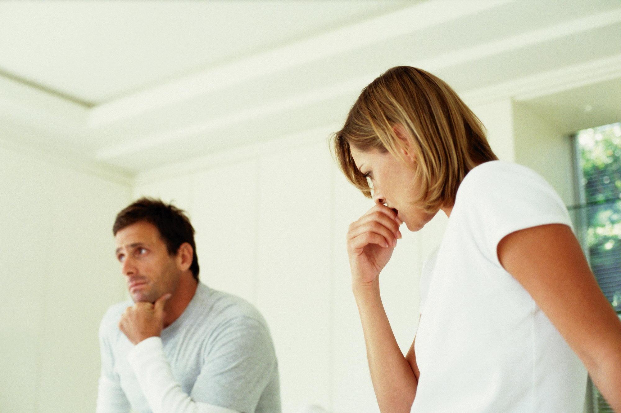 Почему напряжение рядом с мужем
