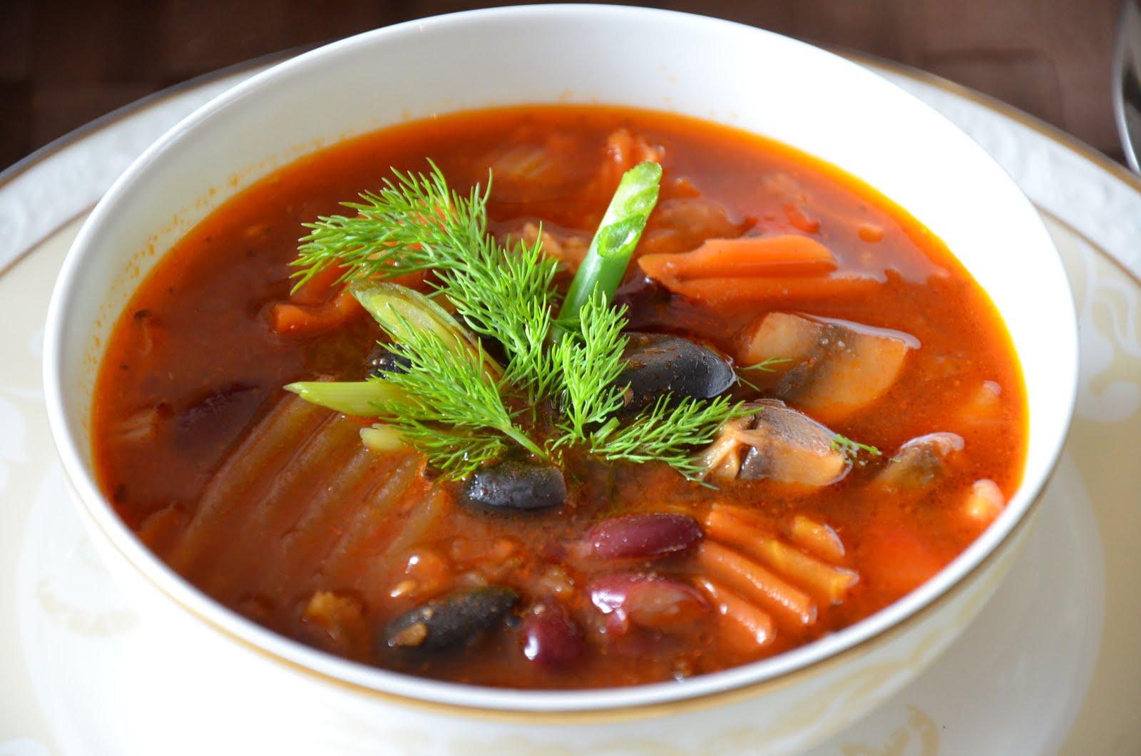 рецепт супа чили с фасолью