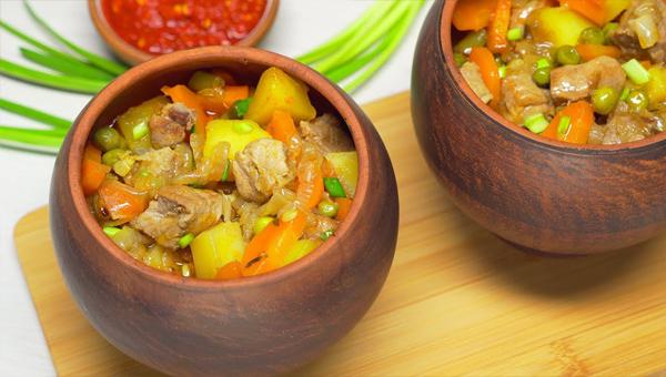 Русские горячие блюда из говядины
