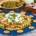 Рецепт приготовления салата «Старорусский»