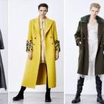 Актуальны в этом сезоне пальто-бушлаты